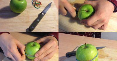 Nie wieder angebräunte Äpfel
