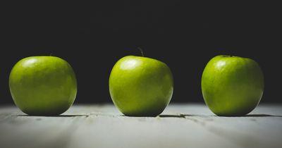 Äpfel-schälen für Könner