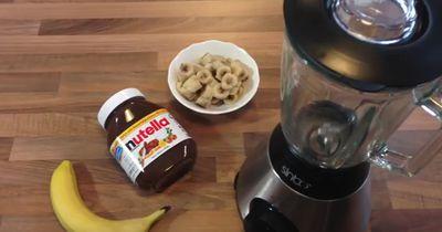 So macht ihr Nutella-Bananen-Eis selber