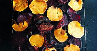 4 gesunde Gemüse-Chips, die du ganz einfach selbst machen kannst!