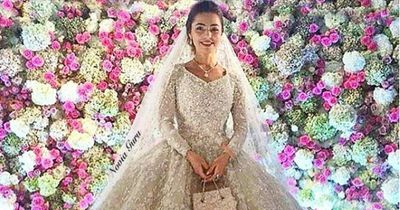 So sah die teuerste Hochzeit der Welt aus!