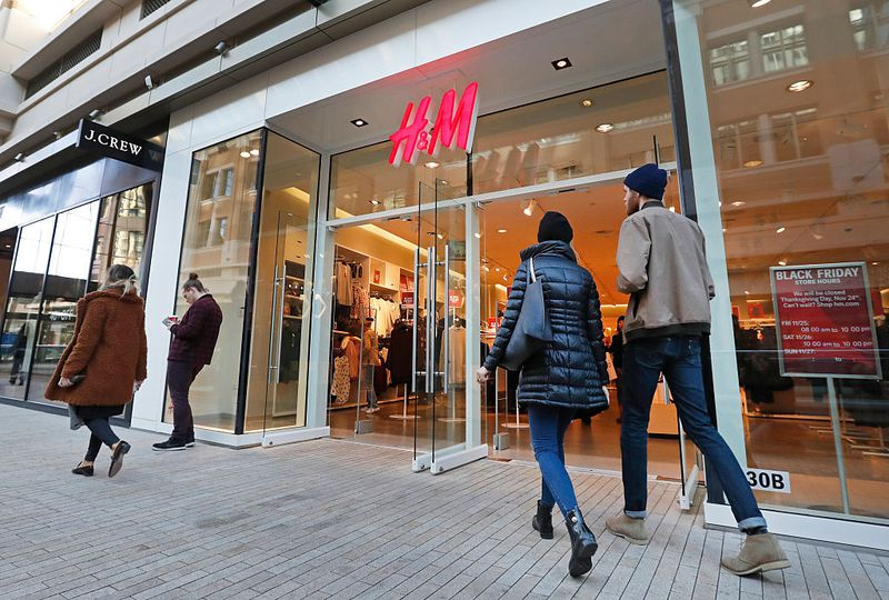 H&M will Filialen dicht machen