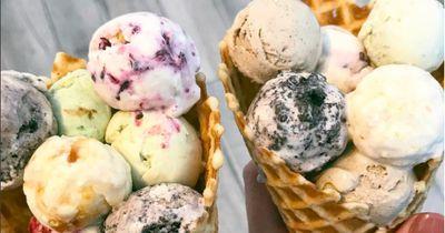 So machst du mit nur 2 Zutaten das beste Eis ever
