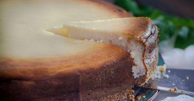 Das ist der einfachste Käsekuchen der Welt