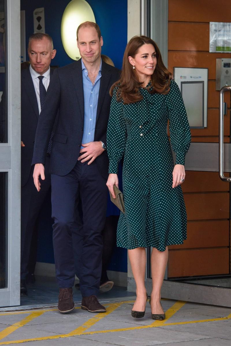 William und Kate halten in der Öffentlichkeit nie Händchen, um professionell zu wirken