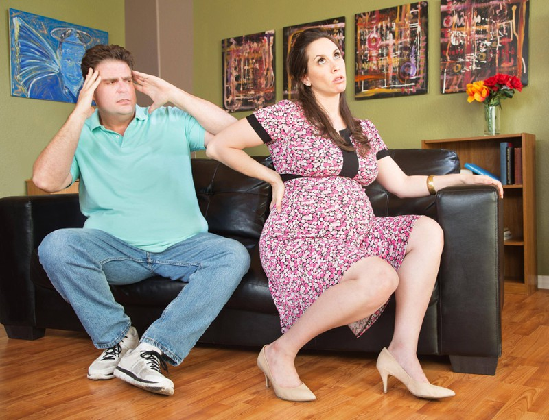 Fehler, die schwangere Frauen ihren Männern nicht verzeihen