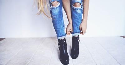 Diese Jeans lassen dich dicker wirken