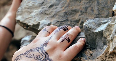 Henna-Tattoos: Farbe, die nicht verblasst