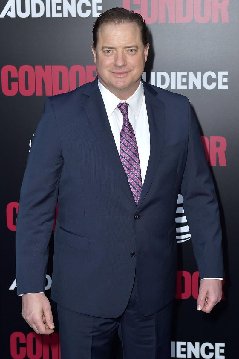 Auch Brendan Fraser ist älter und ein bisschen fülliger geworden