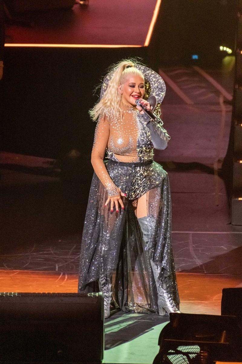 Christina Aguilera hat mittlerweile zugenommen