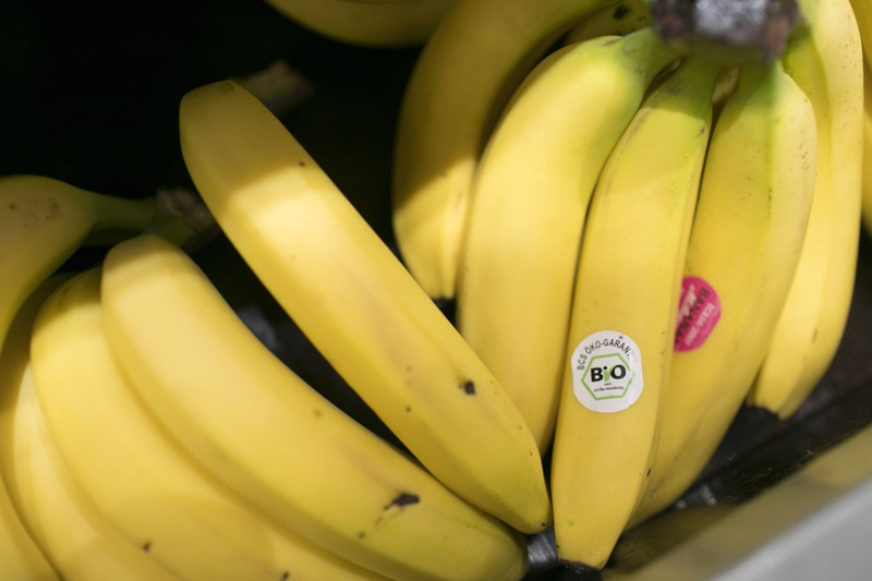 Aus Bananen kann man einen gesunden Burger machen.