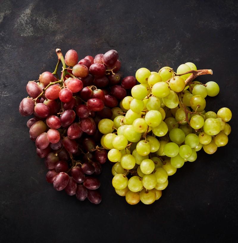 Weintrauben sollte man einfrieren.