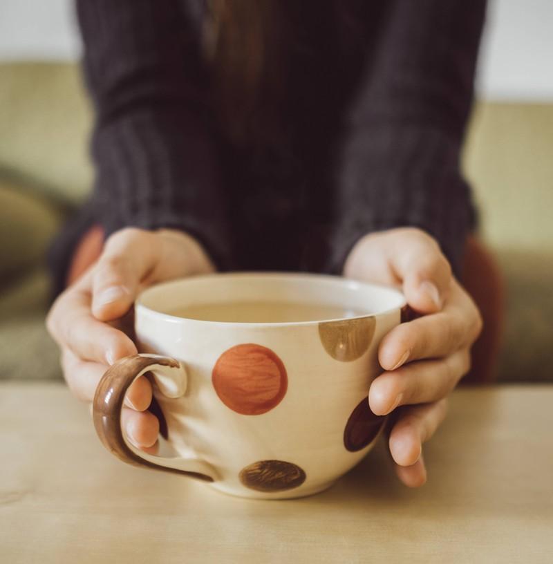 Warmer Tee ist ein Allheilmittel.