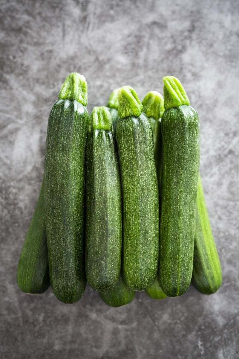 Zucchinis tun dem Bauch gut.