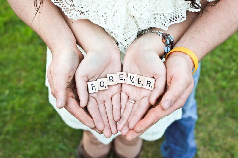 Die Beziehung festigt sich immer weiter und endlich hat man als Paar vollkommenes Vertrauen in die Liebe.