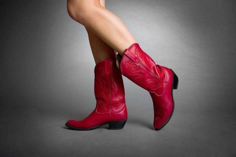 Cowgirl Schuhe sind immer wieder im Trend!