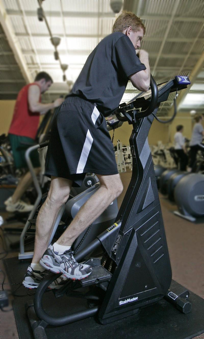 Treppen steigen verbrennt viele Kalorien