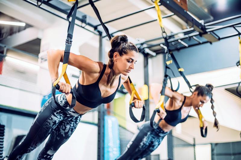TRX verbrennt als Workout viele Kalorien