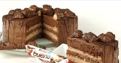 Die perfekte Geburtstagsüberraschung: Kinder- Bueno-Torte