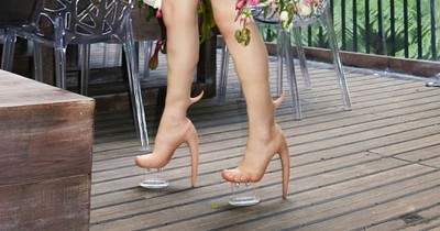Es gibt jetzt High Heels in Menschenhaut-Optik
