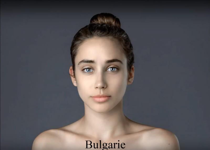 Der bulgarische Look ist sehr dezent.
