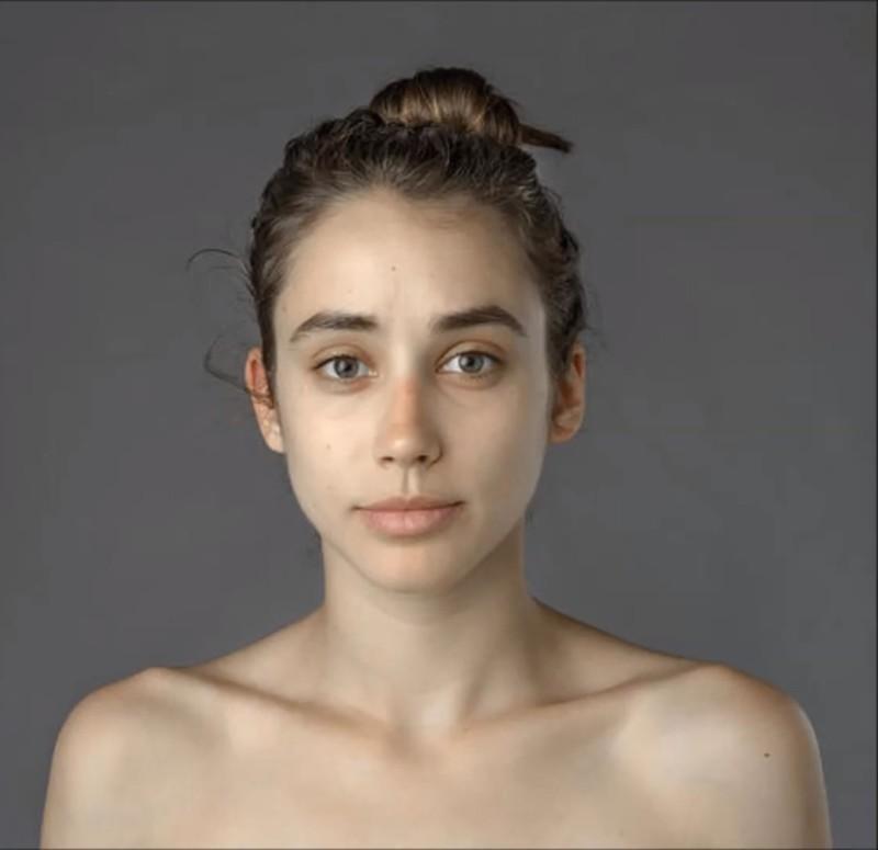 Dieses Foto ist die Ausgangslage für Esther Honigs Schönheitsversuch.