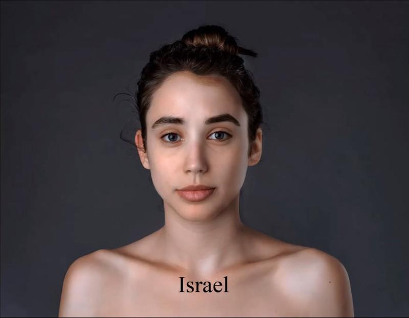 Für das israelische Schönheitsideal müsste Esther mehr Zeit in der Sonne verbringen.