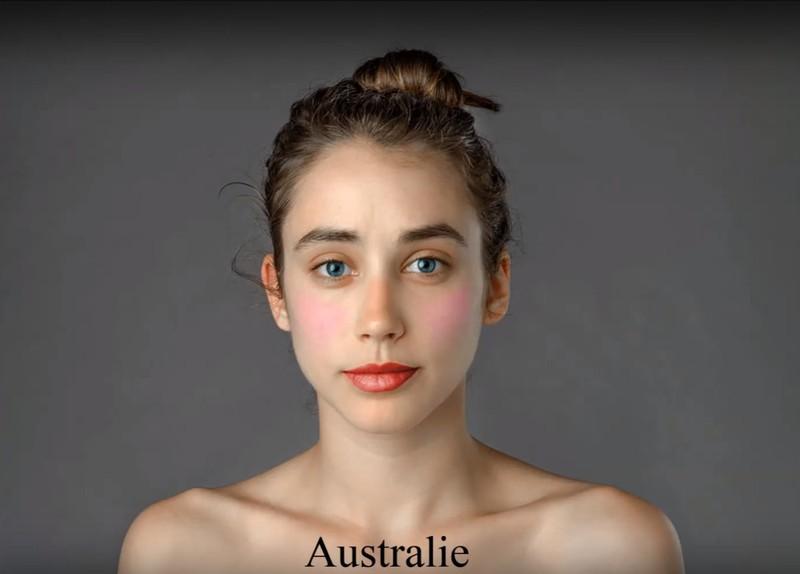 In Australien wird der Fokus beim Make-up auf die Lippen gesetzt.