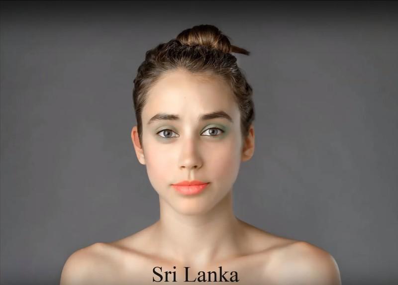 In Sri Lanka gelten blasse Haut und korallfarbene Lippen als schön.