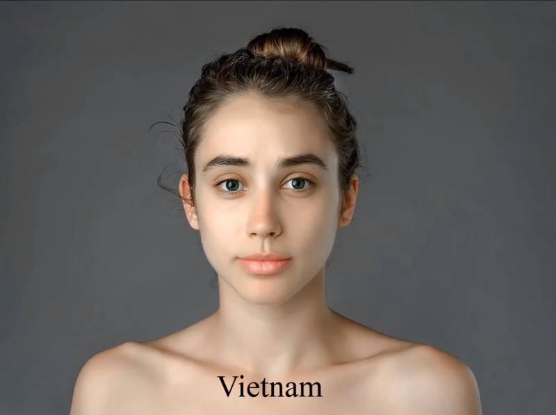 In Vietnam bekam Esther einen hellen, ebenmäßigen Teint als Schönheitsideal.