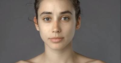 Eine Frau bat darum, sie schöner zu machen. 23 verschiedene Gesichter kamen dabei heraus: