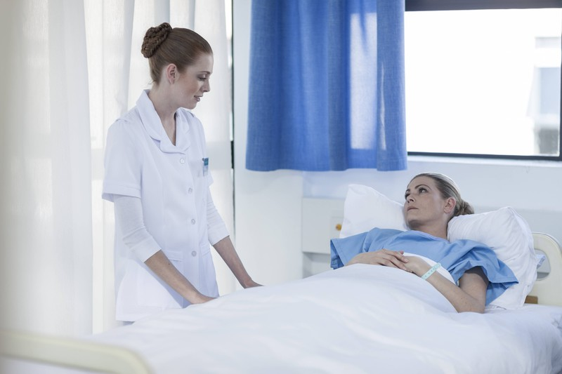 Zum Glück ging die junge Frau ins Krankenhaus, sodass sie schnell operiert werden konnte.