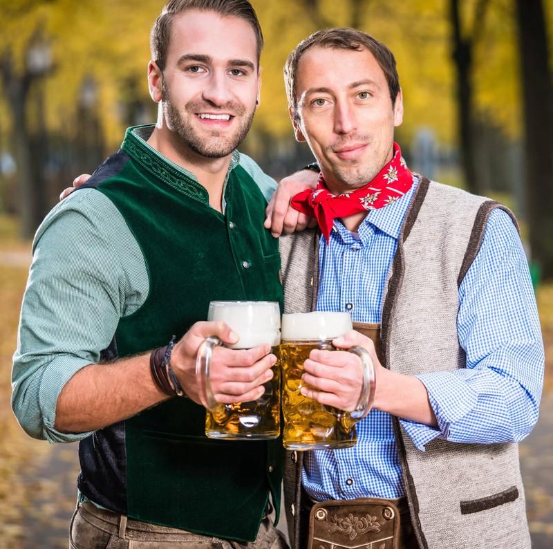 Männer wollen auch mal Zeit mit ihren Freunden verbringen und Bier trinken