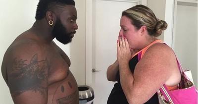 Fitnesstrainer nahm über 30 Kilo zu, um gemeinsam mit seiner Klientin abzunehmen