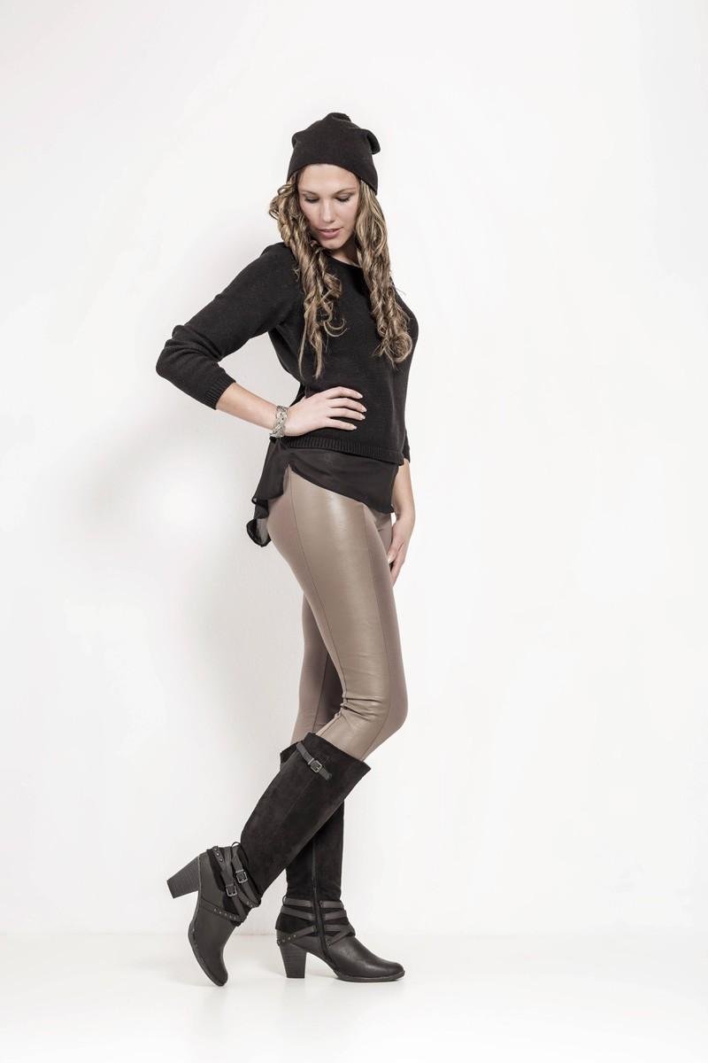 Leggings Style und Boots