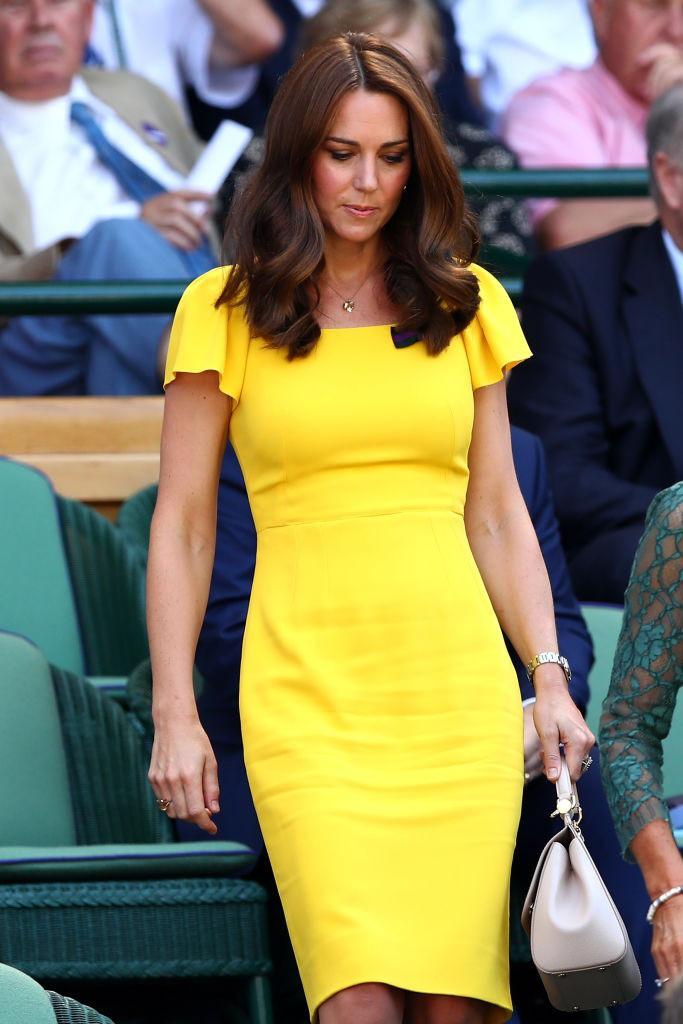 Duchess Catherine of Cambridge trägt nicht aus persönlichem Geschmack niemals orange