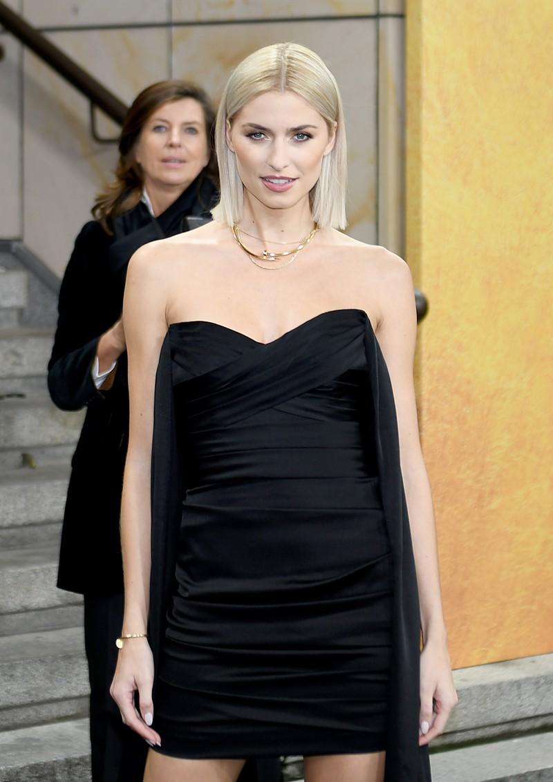 Das Topmodel Lena Gercke ist zum ersten Mal schwanger.