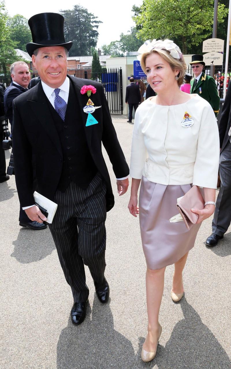 David Armstrong-Jones und SerenaStanhope reichen die Scheidung ein. Der Neffe der Queen war 26 Jahre mit Serena verheiratet