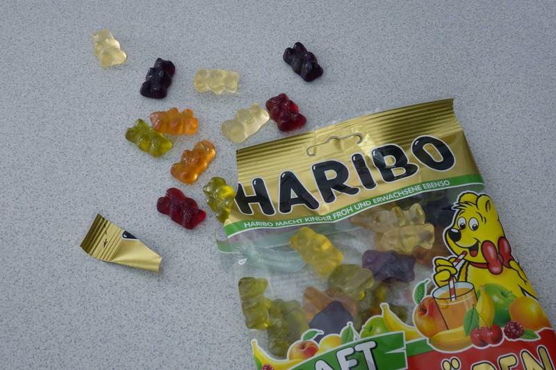 Haribo Goldbären enthalten tierische Gelantine