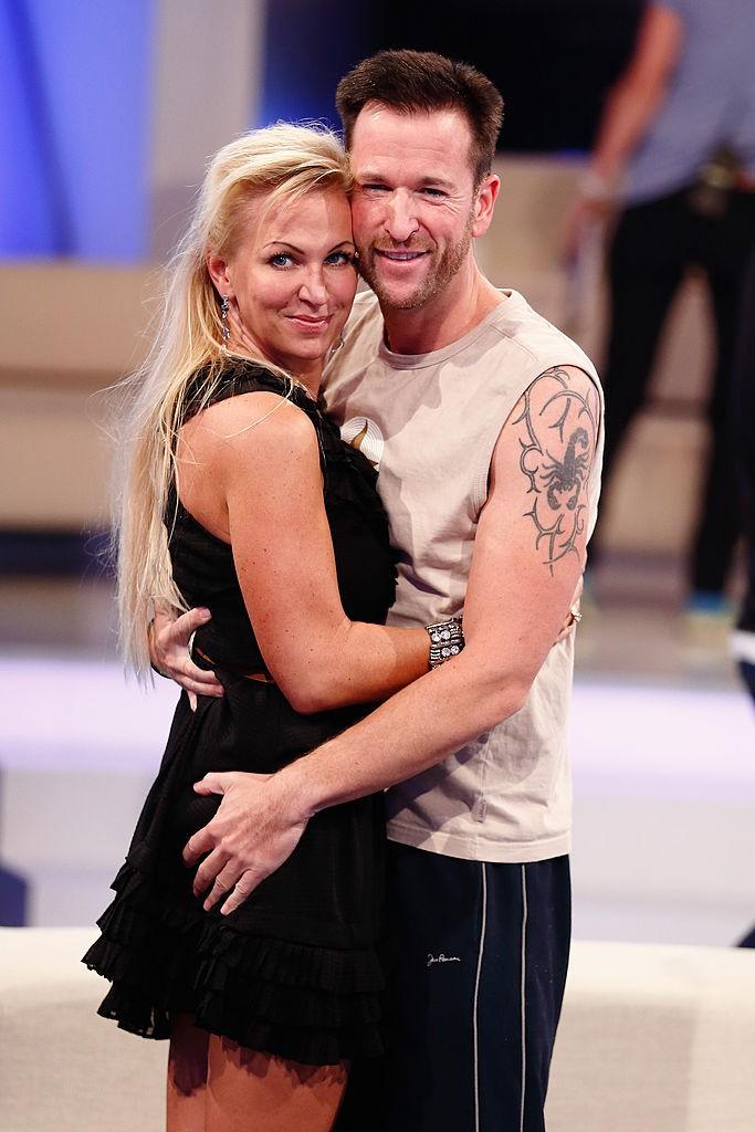 Claudia Norberg und Michael Wendler bei einer Show