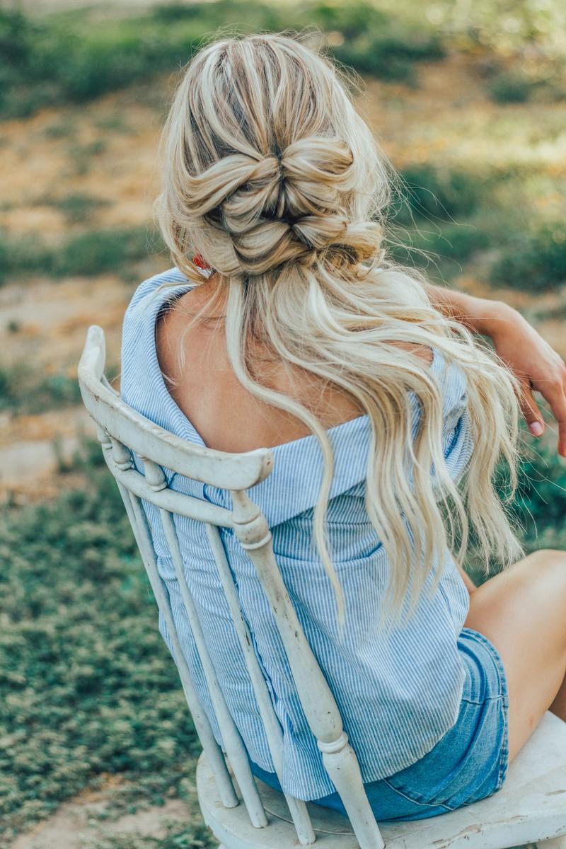 Geflochtene Haare machen selbst die plattesten und dünnsten Haare irgendwie voluminöser.