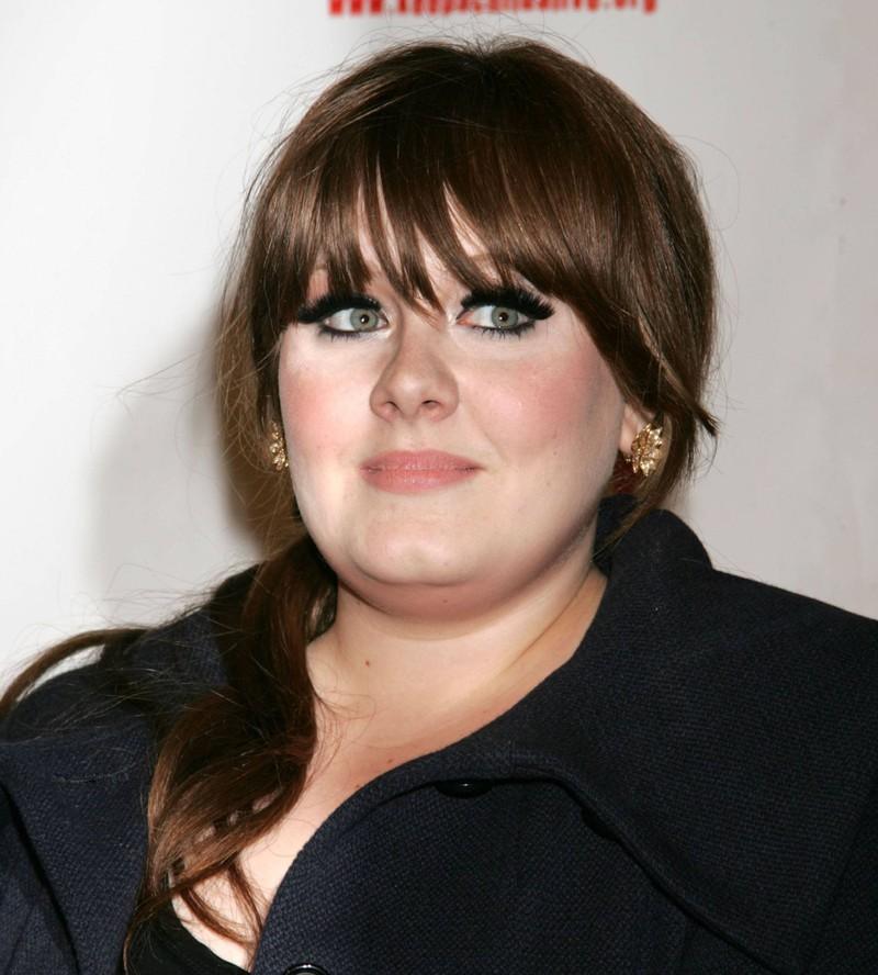 Adele war zum Beginn ihrer Karriere pummelig.
