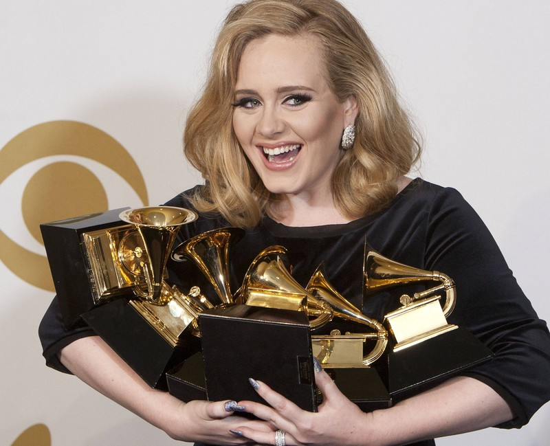 Sängerin Adele ist mit ihrer Musik sehr erfolgreich.