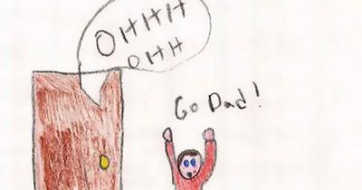 8 Zeichnungen von Kindern, die es zu genau nehmen