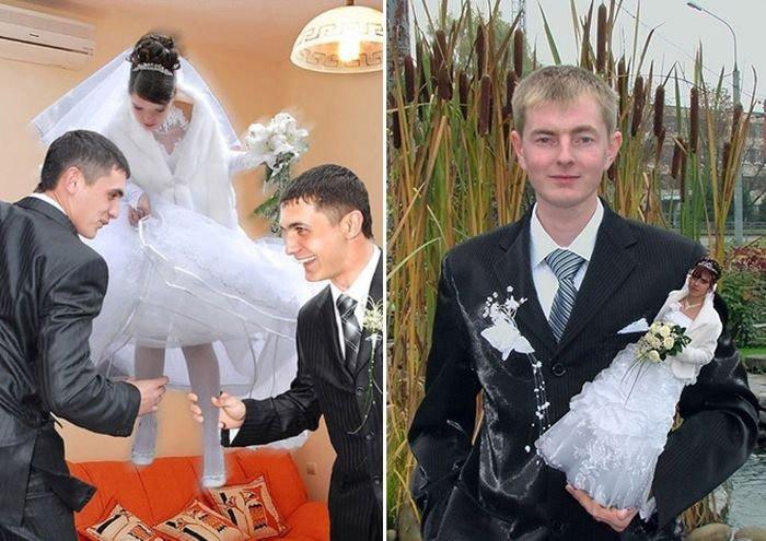 Manche Hochzeitsfotos sollte man einfach nicht veröffentlichen.