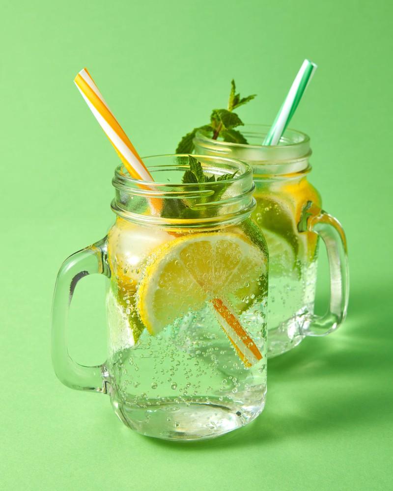 An heißen Tagen sollte man nicht auf eine kühles Getränk verzichten.