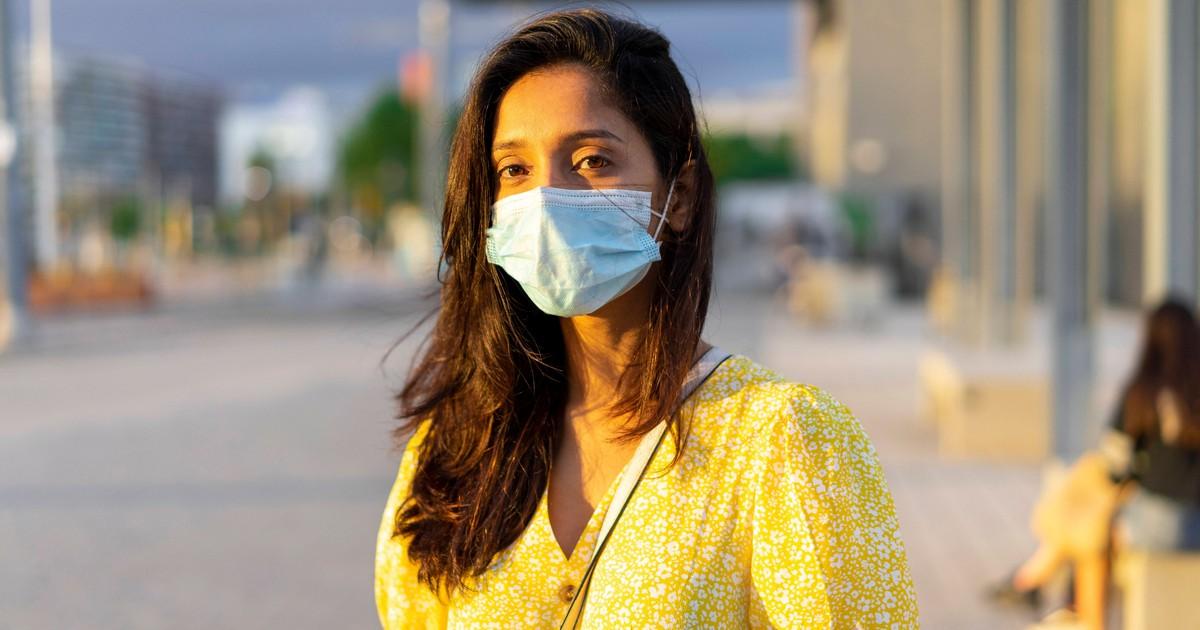 Schwitzen unter der Mund-Nasen-Maske: Wie kannst du es verhindern?
