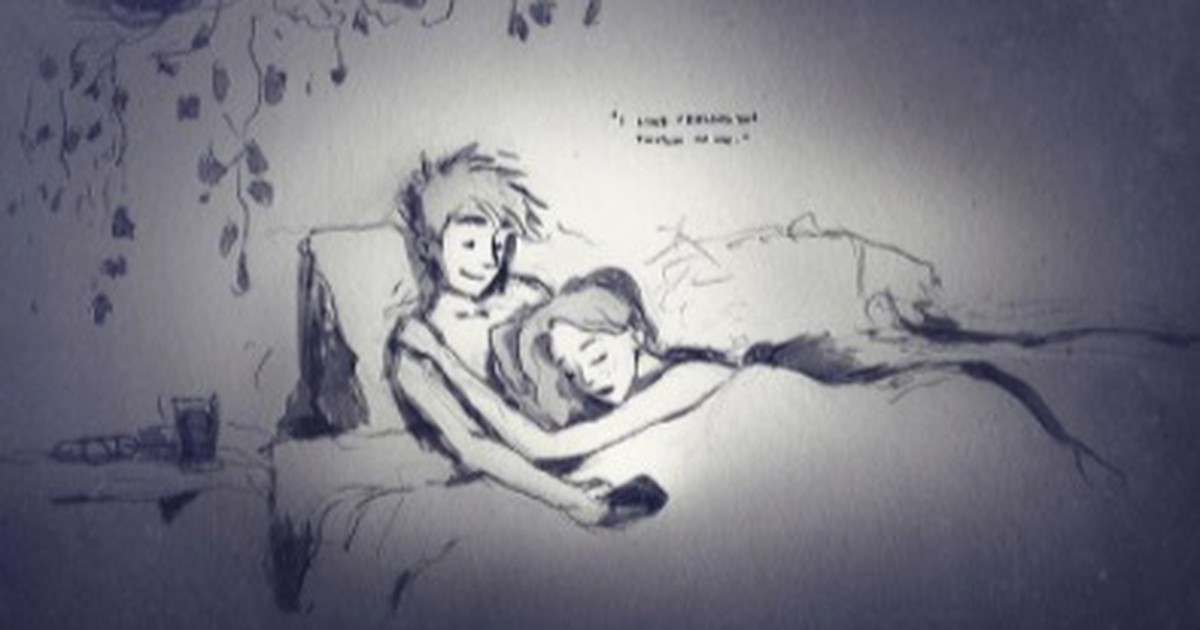 Rührend! Künstler Curtis Wiklund zeichnet die Liebe zu seiner Frau