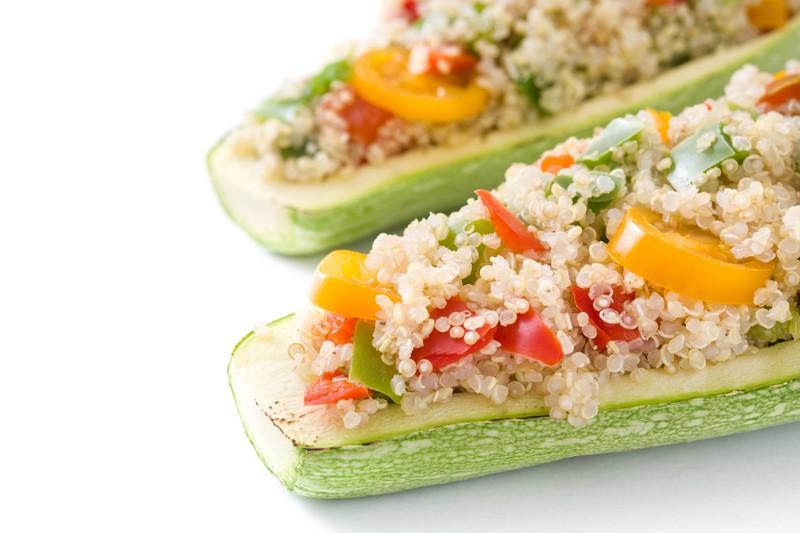 Quinoa ist gut für das Abnehmen