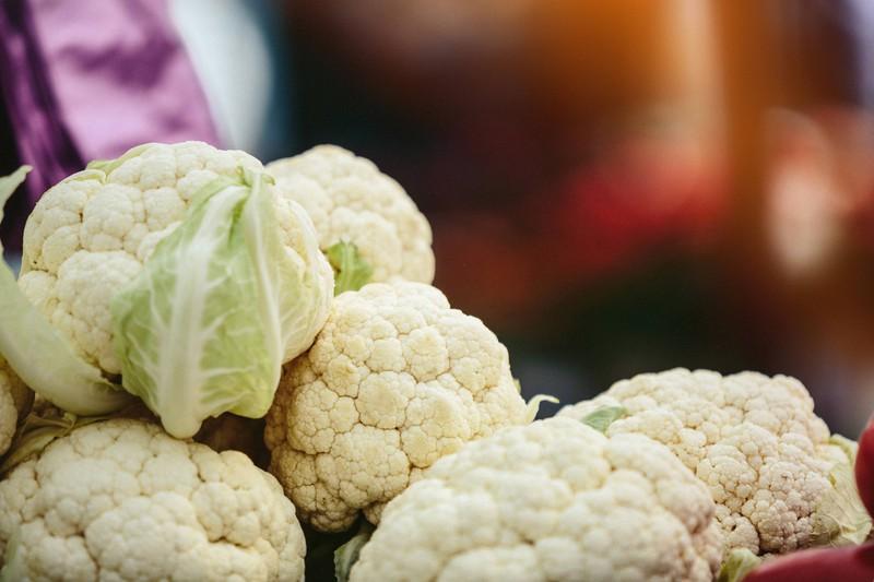 Statt Kartoffeln könnte man Blumenkohl essen